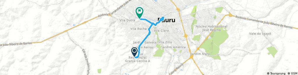 ride through Bauru