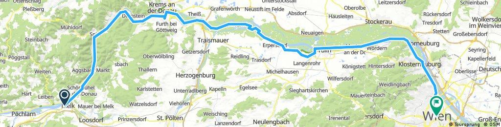 Day 3 - Melk to Vienna