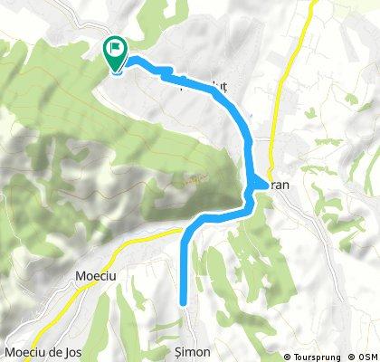 bike tour through Predeluț