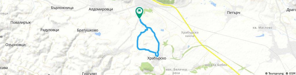 ride through Slivnitsa