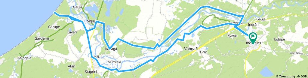 60km Rudens velobrauciens