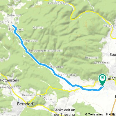 Ausfahrt nach Rohrbach