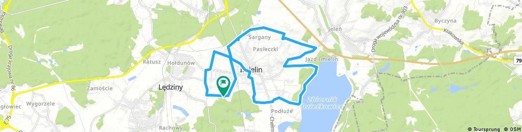 bike tour through Imielin