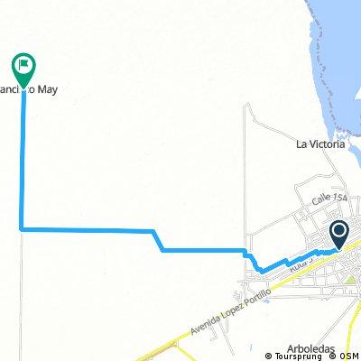 Cancun  a Francisco May zona Agricola
