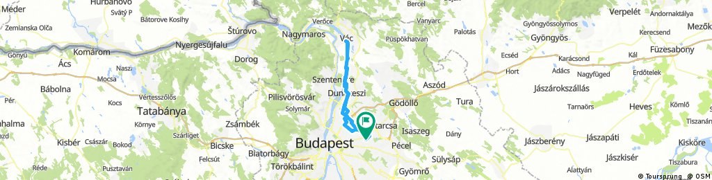 Dunakeszi Vác érzékelő teszt