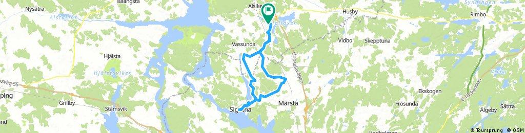 Sigtuna via Suckunge o Lövstaholm