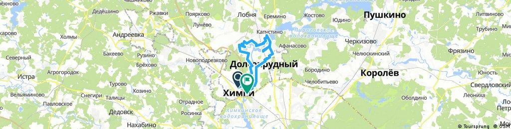 Химки - Долгопрудный - Левобережная