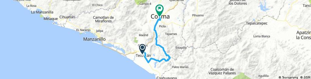 Tecomán-Chanchopa-Ixtlahuacán-Colima