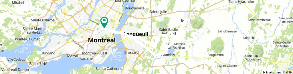 montreal- chambly- m. st.hilaire- st.bruno- mtrl