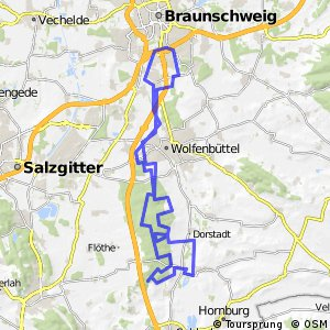 Cycling routes and bike maps in and around Braunschweig Bikemap