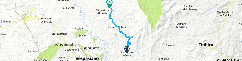 Taquaraçu - Terreno morro até São José Almeida