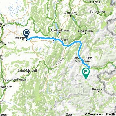 Bourgin-Col del Galibier