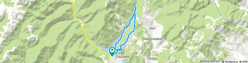 Baraj Maneciu - Cascada Schinda