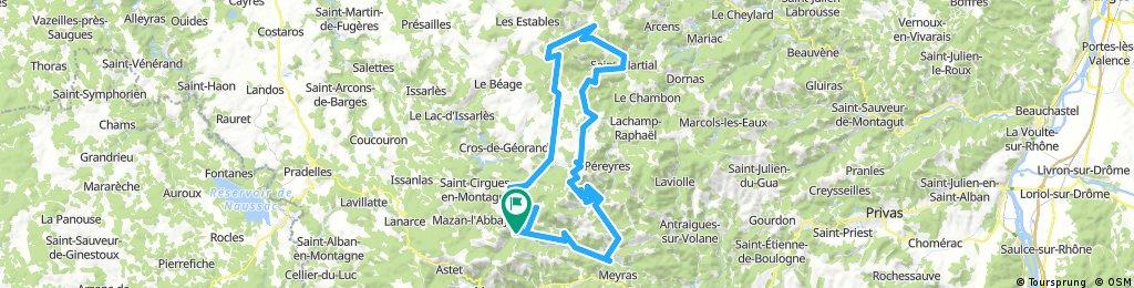 TransAlp2017 - tour Ardeche etappe 4