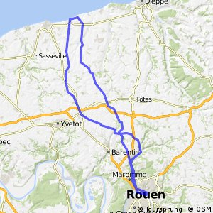 Cycling routes and bike maps in and around Normandy Bikemap Your