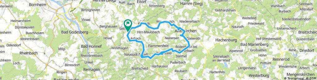 Lange Radrunde durch Neustadt altenkirchen Buchholz