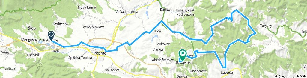 Do Bukoviny / Levoča