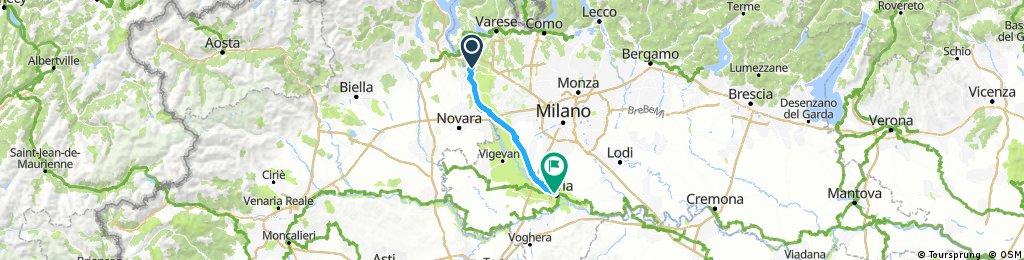 Somma Lombardo - Pavia