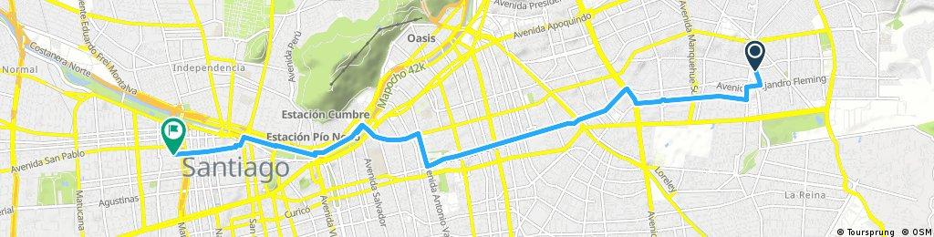 Mejor Ruta al centro desde RotondaAtenas