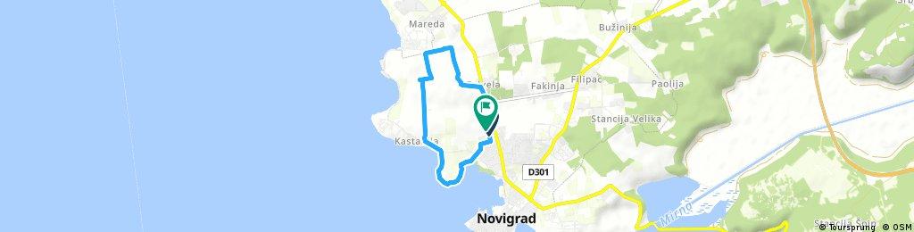 Brief ride through Salvela