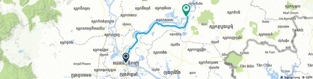 Phnom Penh-Kampong Cham