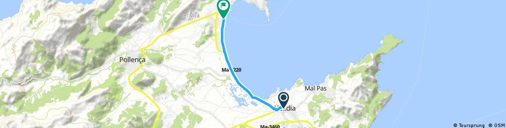 Day 16 - Alcudia to Port de Pollensa