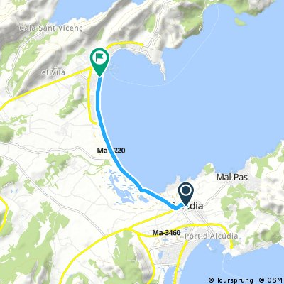Day 16 - Alcudia to Port de Pollensa