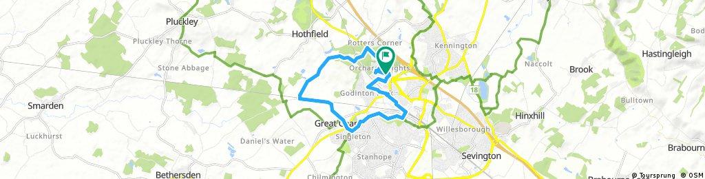 bike tour through Ashford