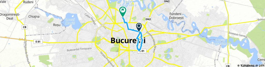 bike tour through Bucharest