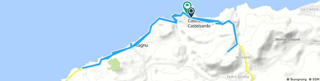 Radrunde durch Castelsardo