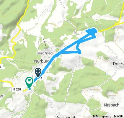 Short bike tour through Müllenbach