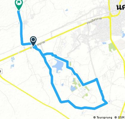 Lengthy bike tour from 13 กันยายน 17:40