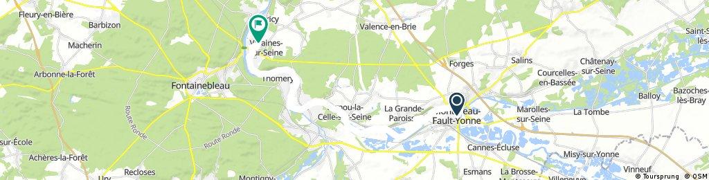 Montereau - Hericy