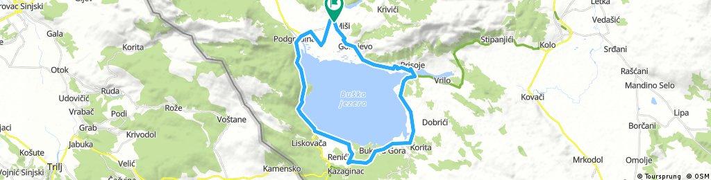 JezioroBuskoMakarska_40km