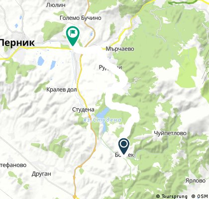 Село Боснек-СелоКладница-квИзток Перник