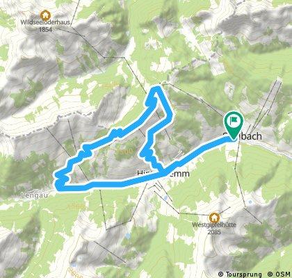 Saalbach - Reiterkogel - Saalbach