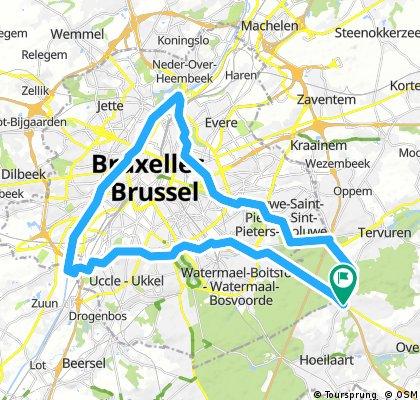 Bruxelles sans voiture 17/09/17