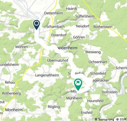 9-27 Treuchtlingen Mörnsheim 19,8km 80hm