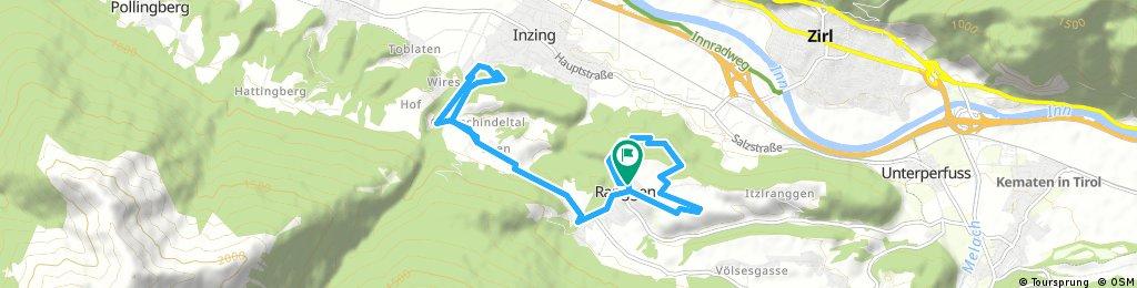12km Laufrunde