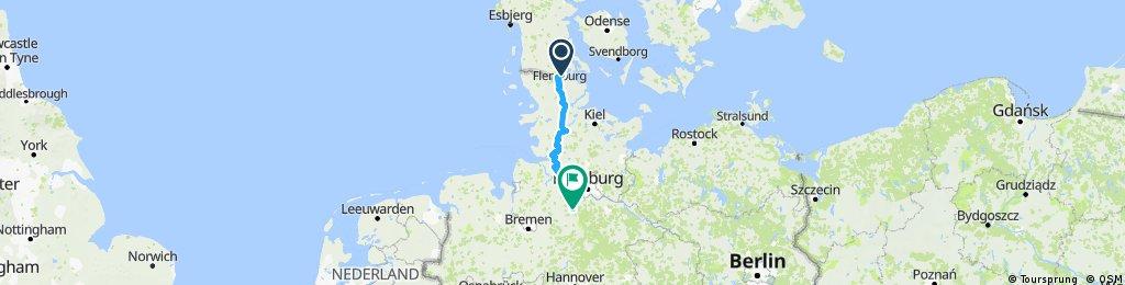 Flensburg - Tostedt