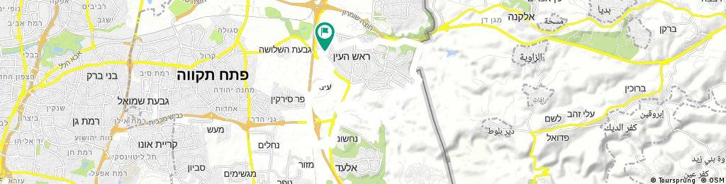 bike tour through Rosh HaAyin