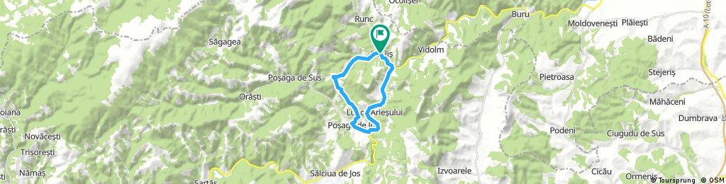 Ocolis - Posaga pe valea Craca