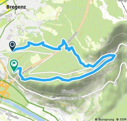Kurze Radrunde durch Bregenz