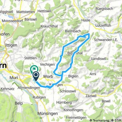 Worbberg - Schafhausen