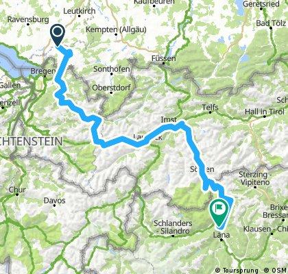2017 Aug.: Hochtannbergpass - Flexenpass - Arlberg - Timmelsjoch