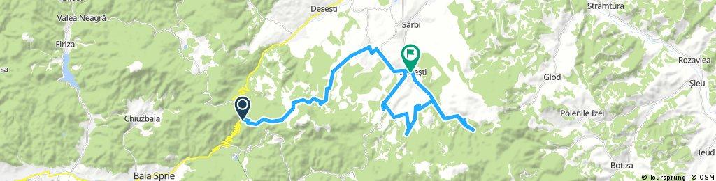 Pasul Gutaii-Tauri-Breb -Schit Budesti-Budesti
