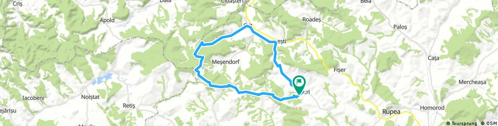Viscri Crit Bunesti Viscri 40 km cu copii