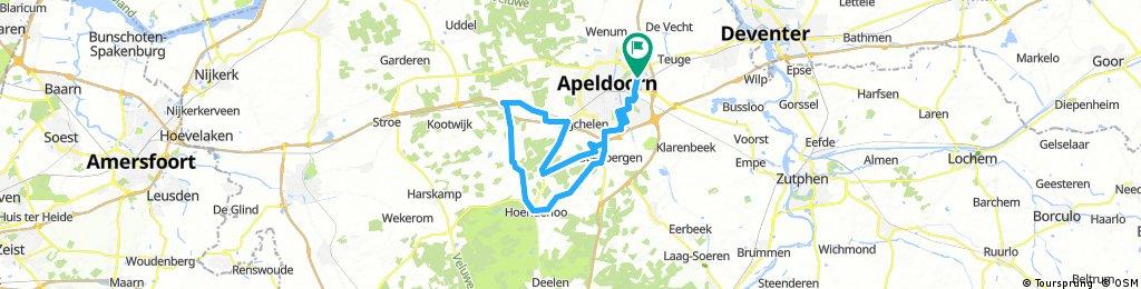 Superrit_Apeldoorn_Hoenderloo_Kootwijkerzand_Assel_Hoenderloo_Apeldoorn