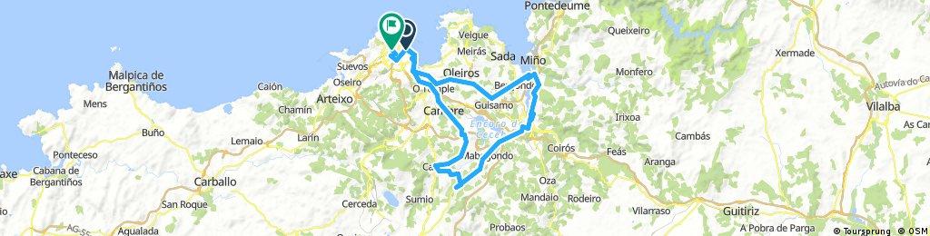 Coruña-Betanzos-Cambre-Burgo-Coruña