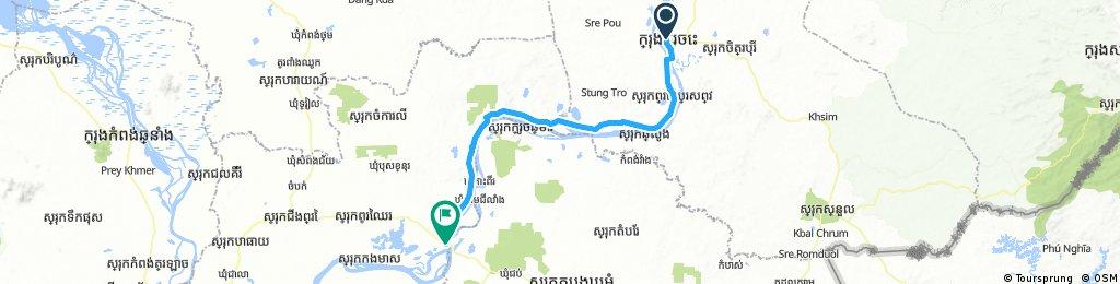 13. Kratie-Kampong Cham